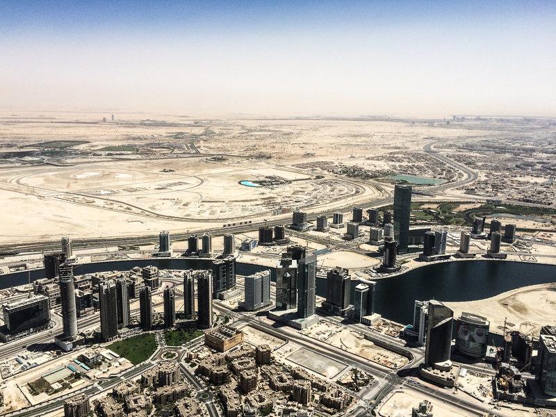 Middle East Luftaufnahme