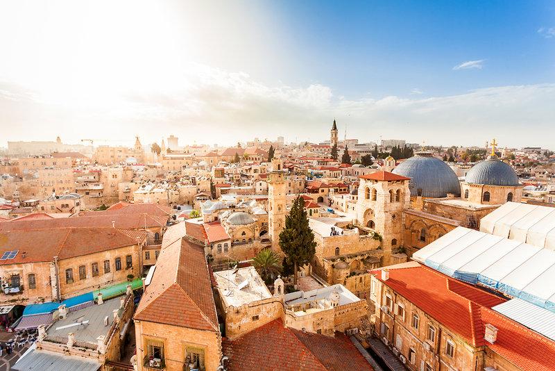 Jerusalem Gate Stadtansicht