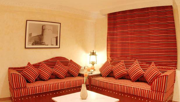 Al Liwan Suites Lounge/Empfang