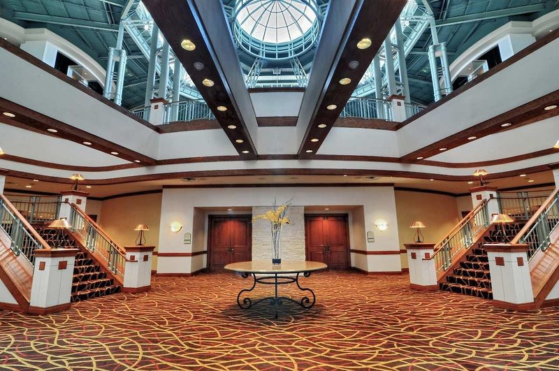 Hilton Austin Airport Lounge/Empfang