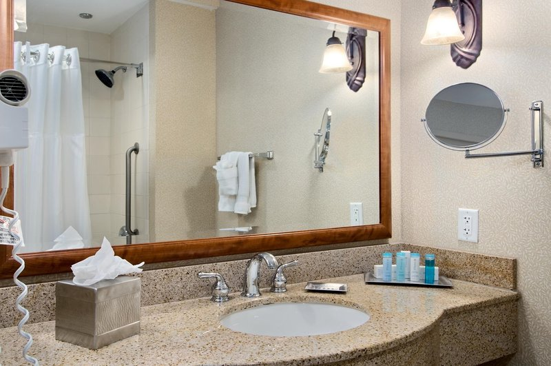 Hilton Austin Airport Badezimmer