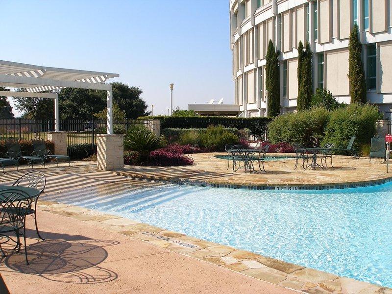Hilton Austin Airport Pool