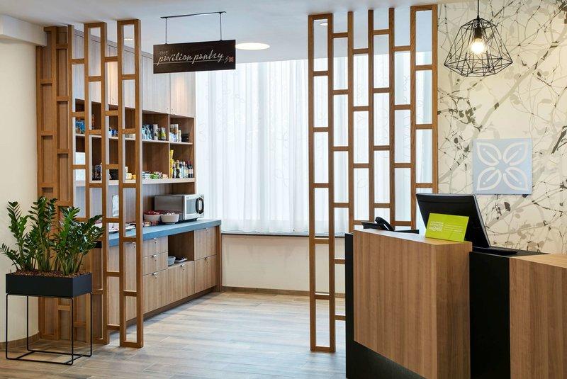 Hilton Garden Inn Brussels Louise Lounge/Empfang