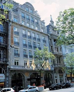 NH Collection Brussels Centre Außenaufnahme