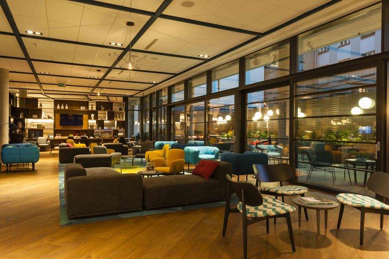 PURO Hotel Poznan Lounge/Empfang