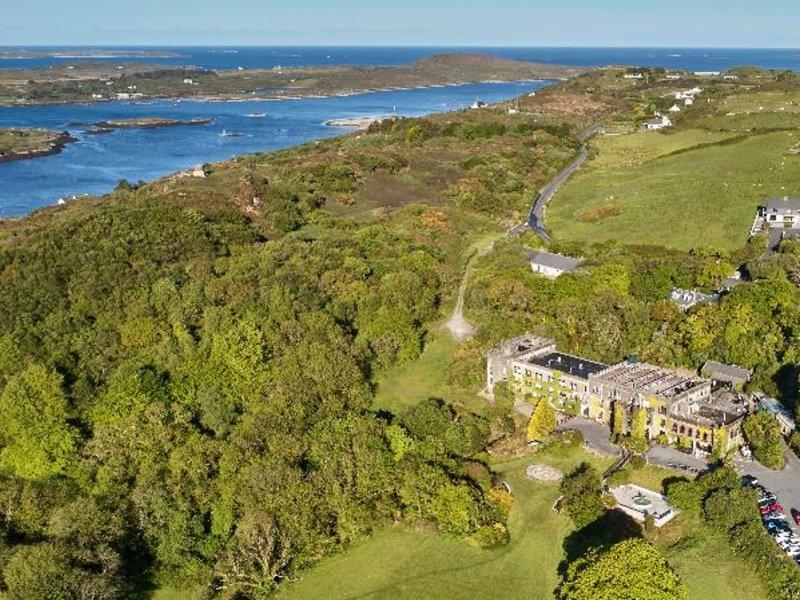 Abbeyglen Castle Landschaft