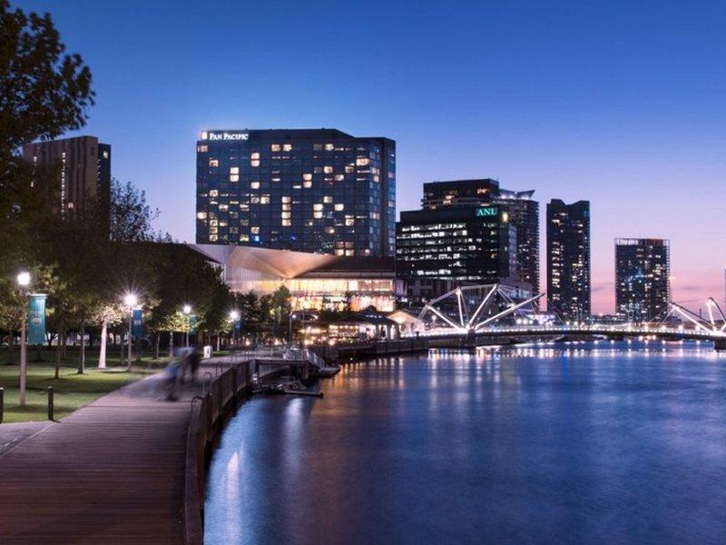 Pan Pacific Melbourne Außenaufnahme