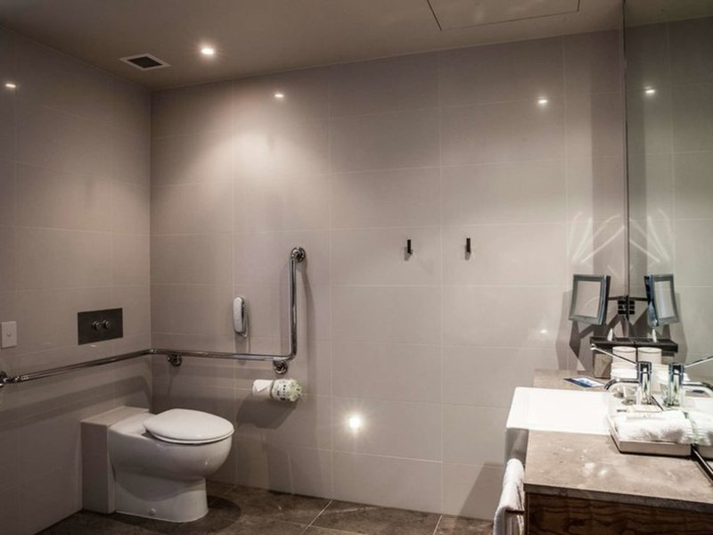 Pan Pacific Melbourne Badezimmer