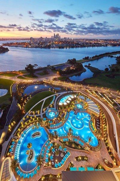 Crown Towers Perth Pool