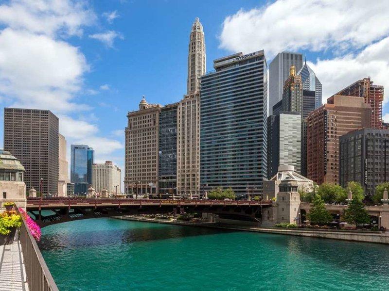 Wyndham Grand Chicago Riverfront Außenaufnahme
