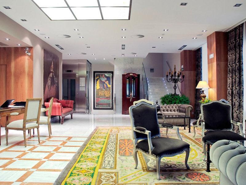 Gran Hotel La Perla Lounge/Empfang