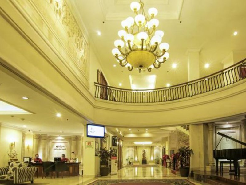 Arion Swiss-Belhotel Bandung Lounge/Empfang