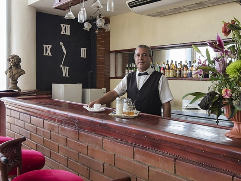 Hotel Neptuno Triton Lounge/Empfang