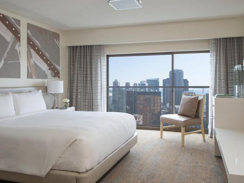 Marriott Downtown Chicago Magnificent Mile Wohnbeispiel