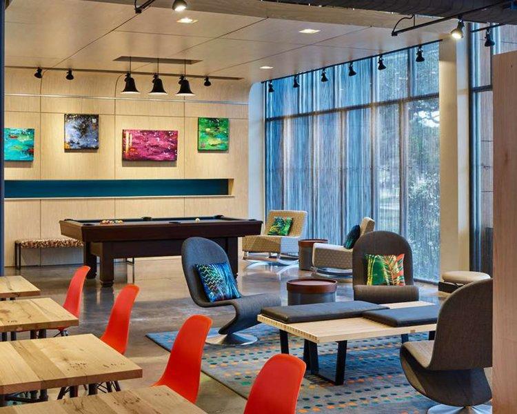 Aloft Austin Northwest Lounge/Empfang