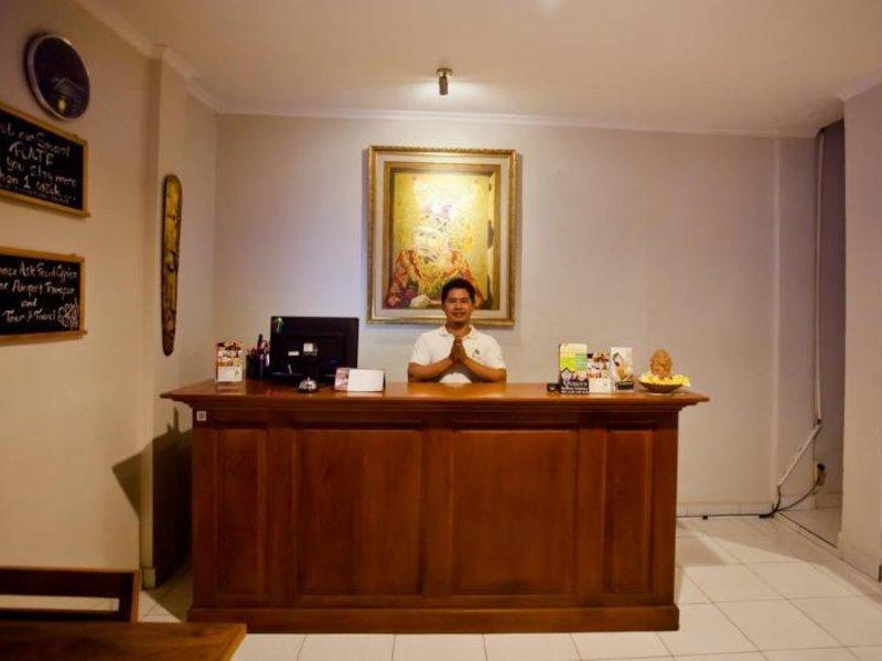 Gana Inn Legian Lounge/Empfang