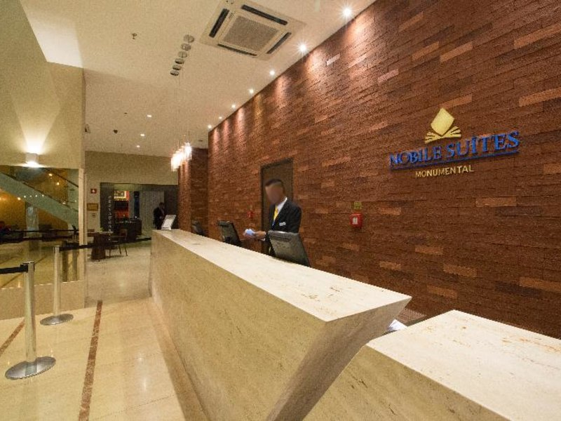 Nobile Suites Monumental Lounge/Empfang