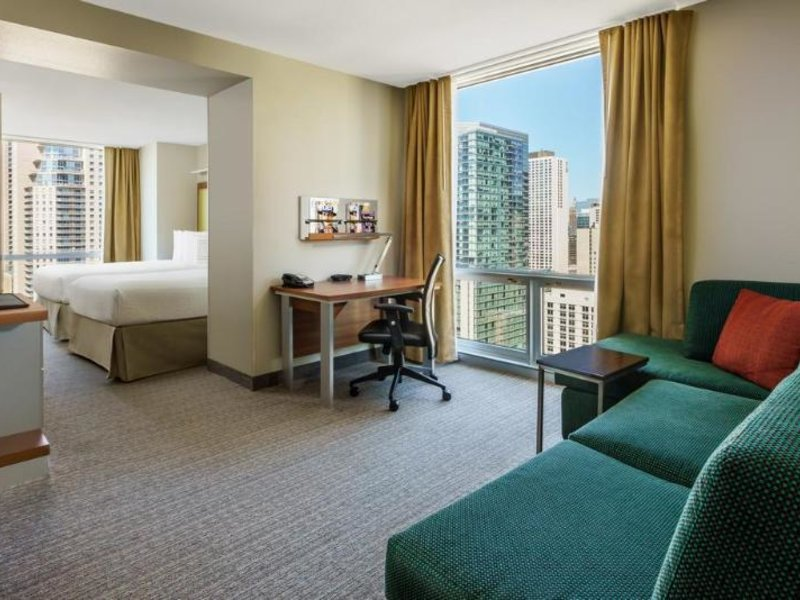 Springhill Suites by Marriott Chicago Downtown/ River North Wohnbeispiel