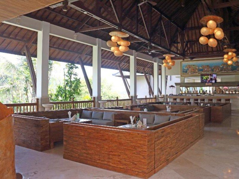 Lokha Ubud Lounge/Empfang