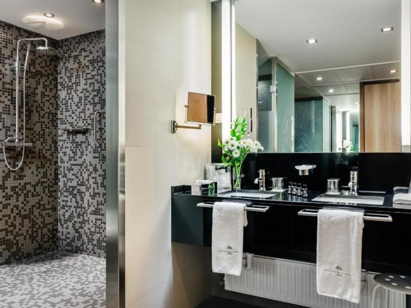 Gran Hotel La Perla Badezimmer