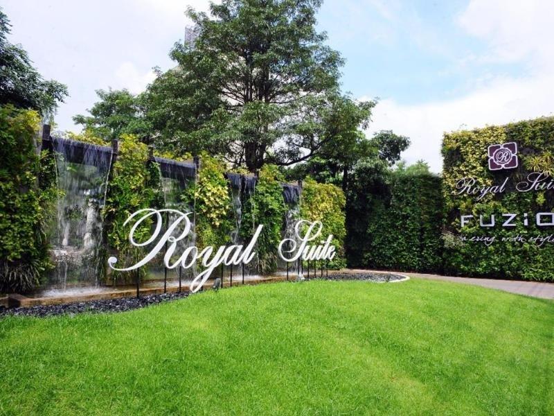 Royal Suite Hotel Bangkok Garten