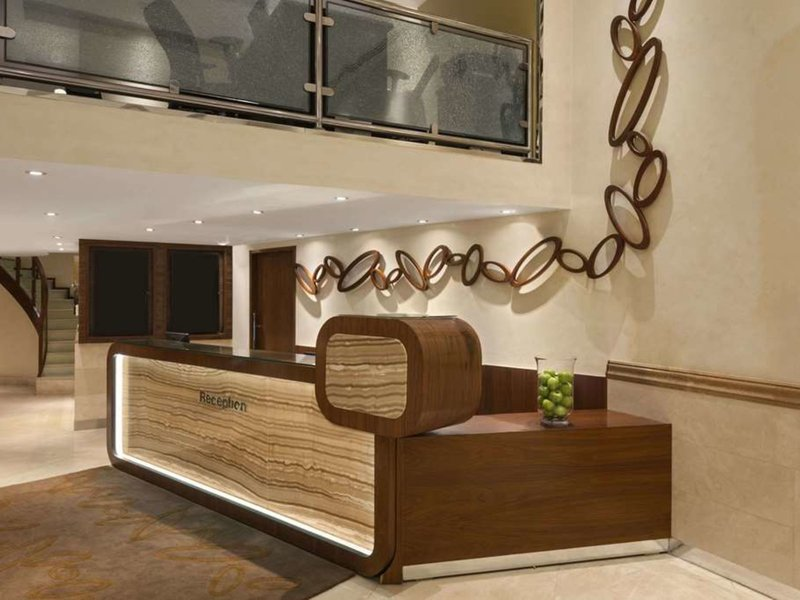 Howard Johnson Hotel Abu Dhabi Lounge/Empfang