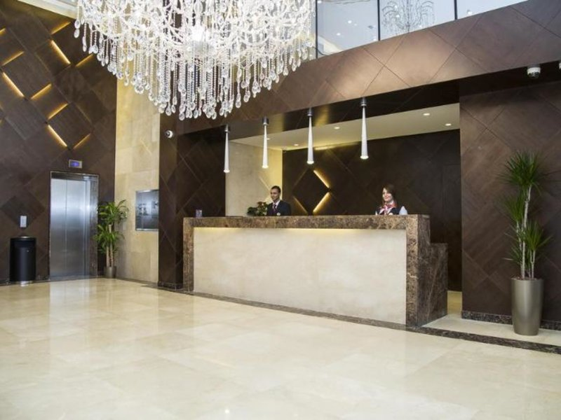 Sulaf Luxury Hotel Lounge/Empfang