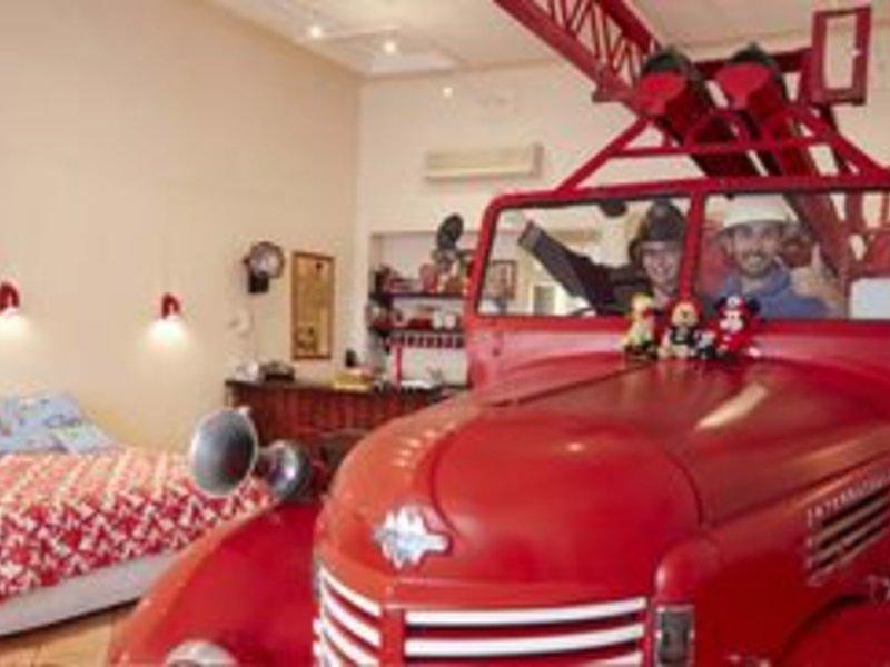 Fire Station Inn Lounge/Empfang