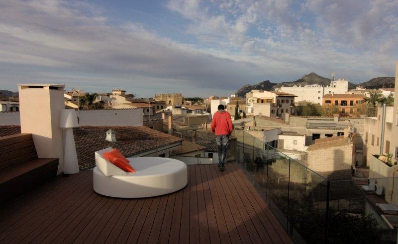 Alcudia Petit HotelTerasse