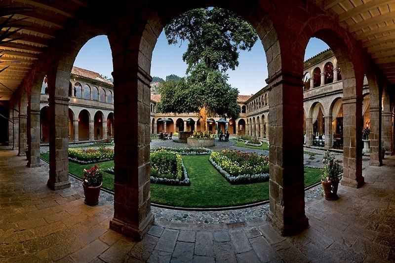Belmond Hotel Monasterio Cusco Terrasse