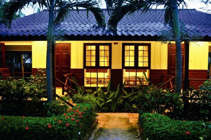 Coco Palm Beach Resort SamuiTerasse