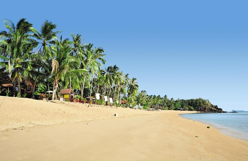 Coco Palm Beach Resort SamuiStrand