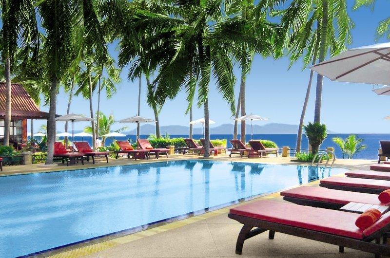 Coco Palm Beach Resort SamuiPool
