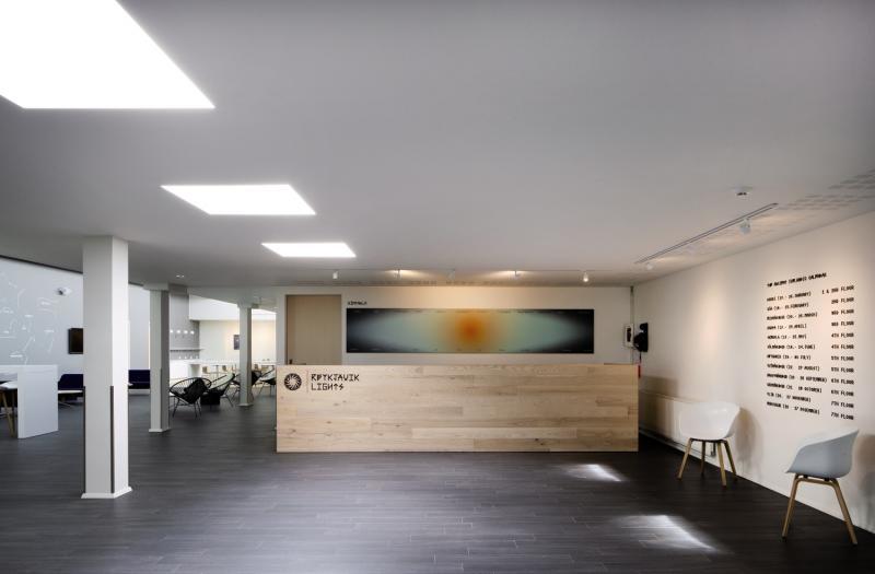 Reykjavik Lights Lounge/Empfang