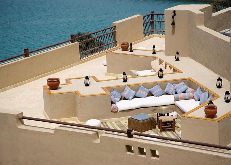 Marina Lodge at Port Ghalib Terrasse
