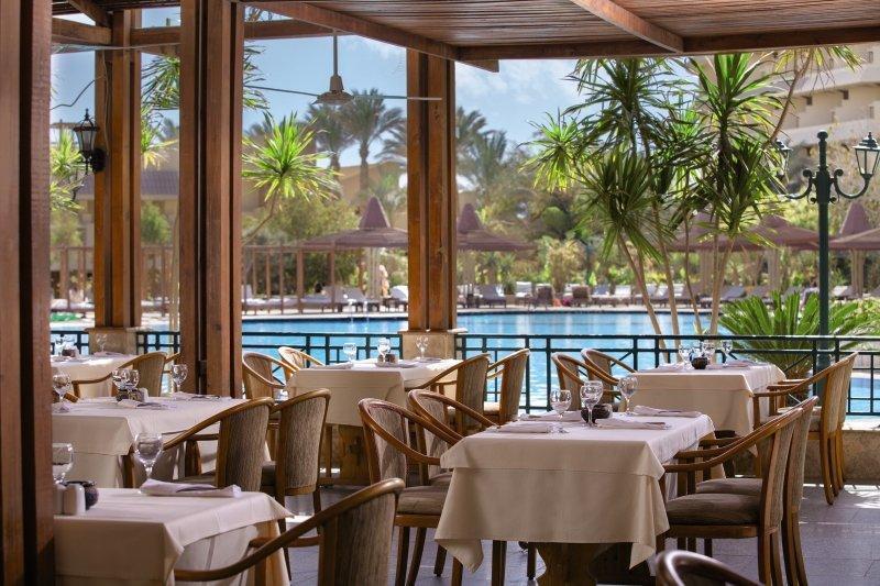 Sindbad Club Gesamtanlage Restaurant