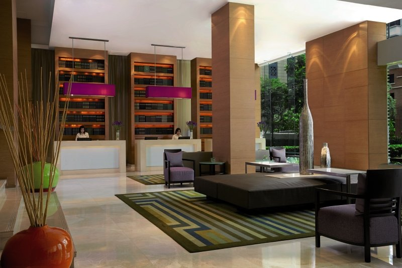 Courtyard by Marriott Bangkok Lounge/Empfang