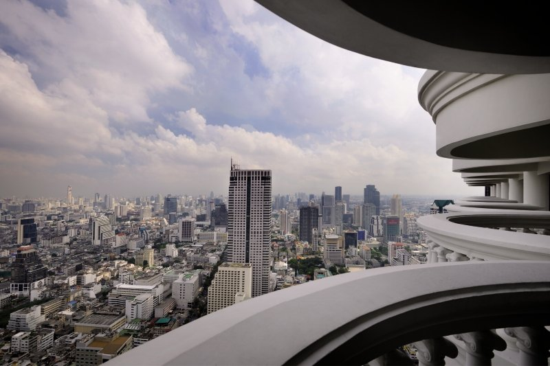 Lebua at State Tower Stadtansicht
