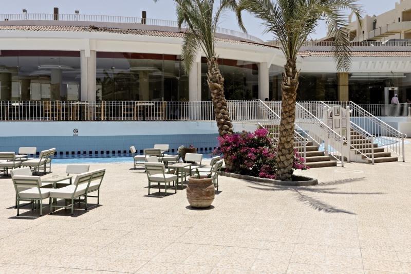 Three Corners Sunny Beach Resort Terrasse