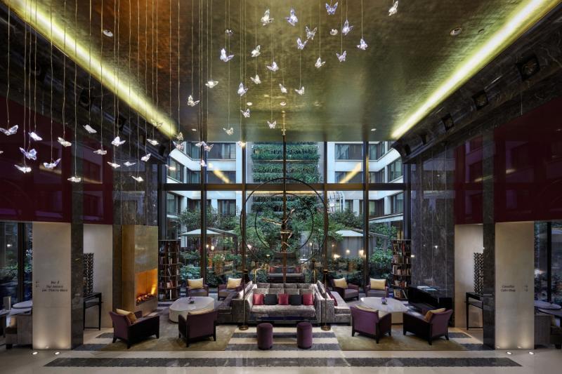 Mandarin Oriental Paris Lounge/Empfang