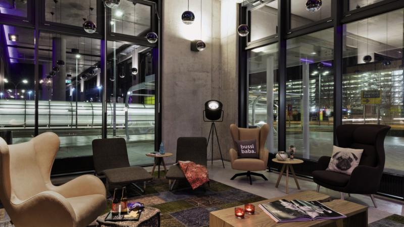 MOXY Vienna Airport Lounge/Empfang