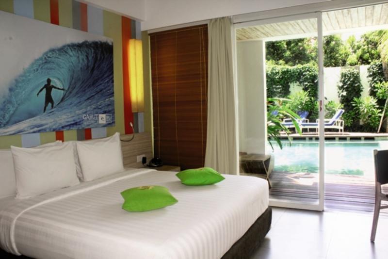 Bliss Surfer Hotel Wohnbeispiel
