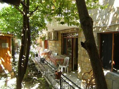 Antonios Motel Side Terrasse