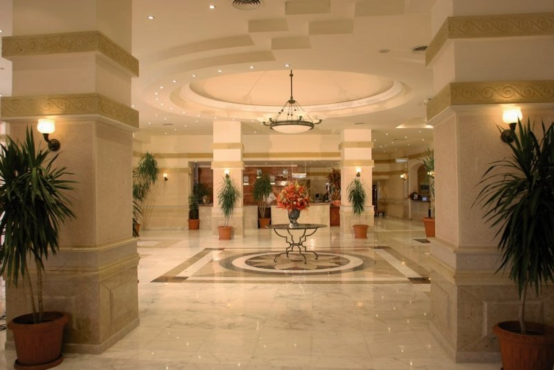 Sindbad Aqua Hotel & Spa Lounge/Empfang