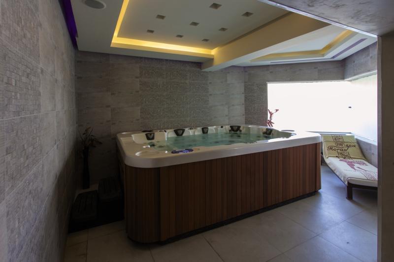 Sindbad Aqua Hotel & Spa Badezimmer