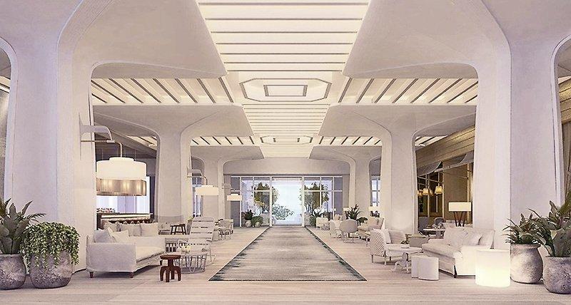SLS at Baha Mar Lounge/Empfang