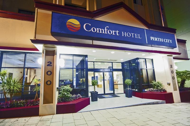 Comfort Perth City Außenaufnahme