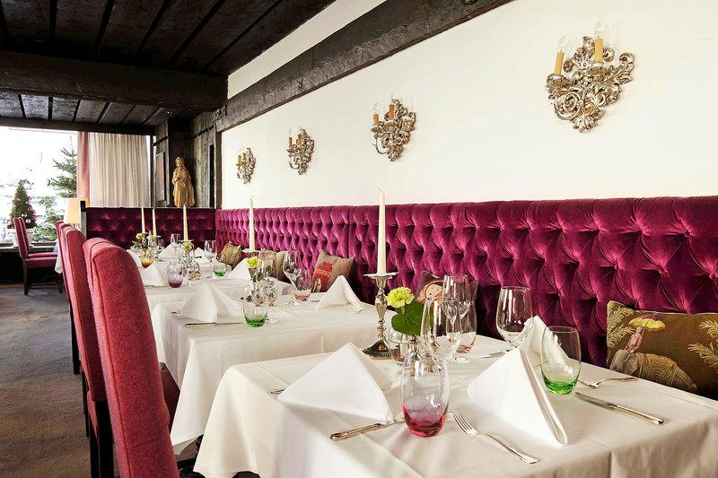 Thurnhers Alpenhof Zürs Restaurant