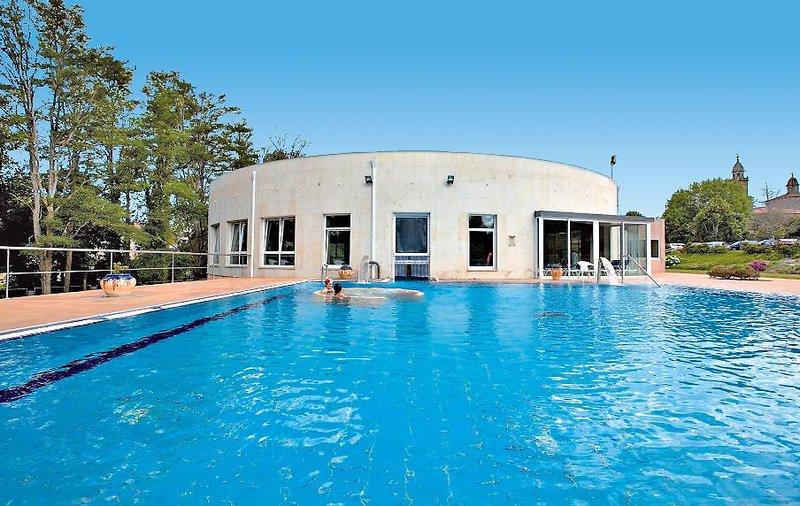 Termas de Cuntis - Hotel La Virgen Pool