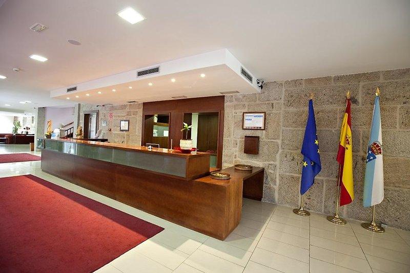 Termas de Cuntis - Hotel La Virgen Lounge/Empfang